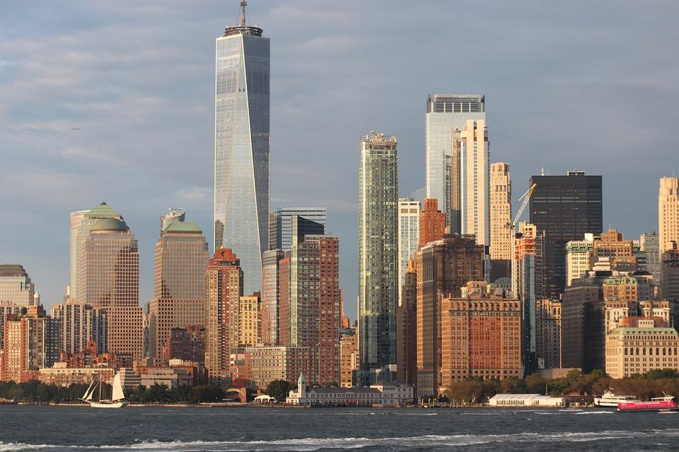 Skyline, Skyscraper, Cityscape, Buildings, Architecture