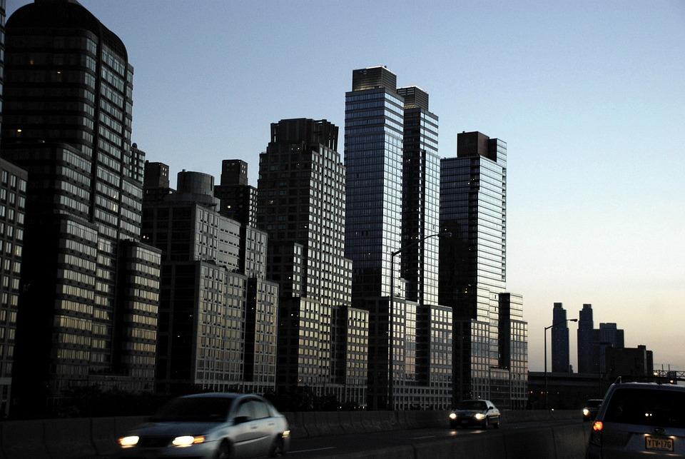 New York, Skyscrapers, Cityscape, Architecture