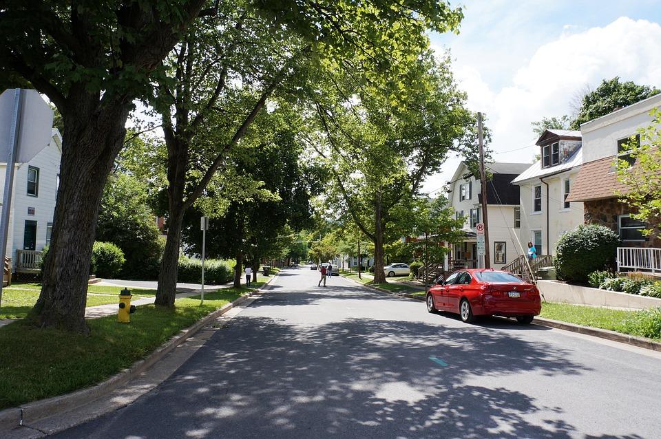 Street, Streetscape, Road, Cityscape, Scene