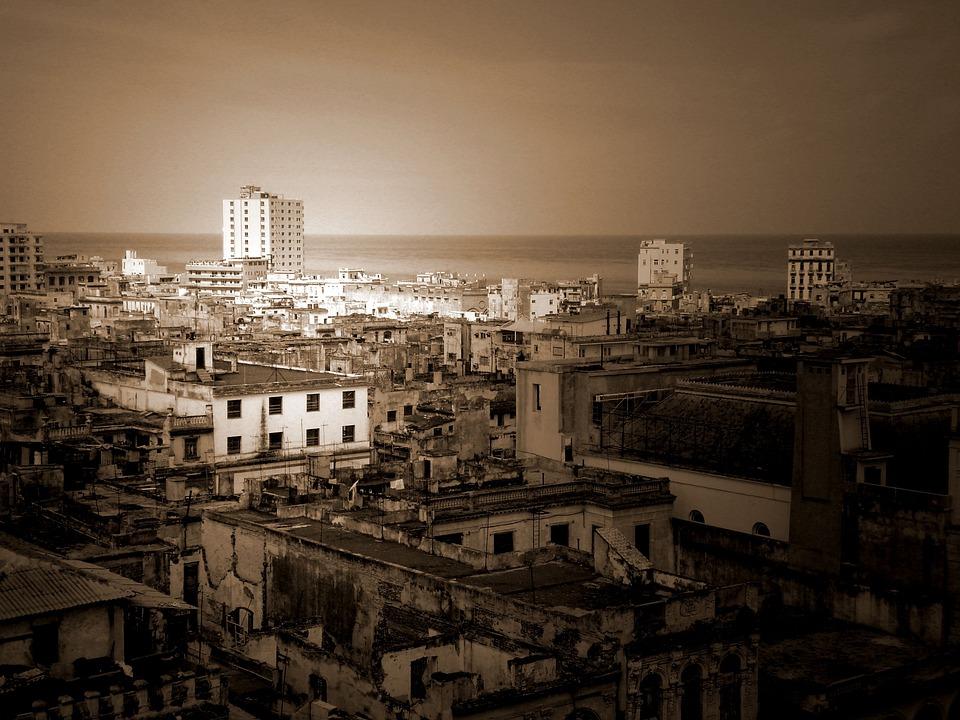 Cuba, Skyline, Havana, Urban, Travel, Cityscape, Latin