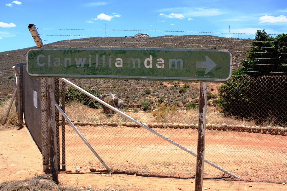 Clanwilliamdam, South Africa, Shield