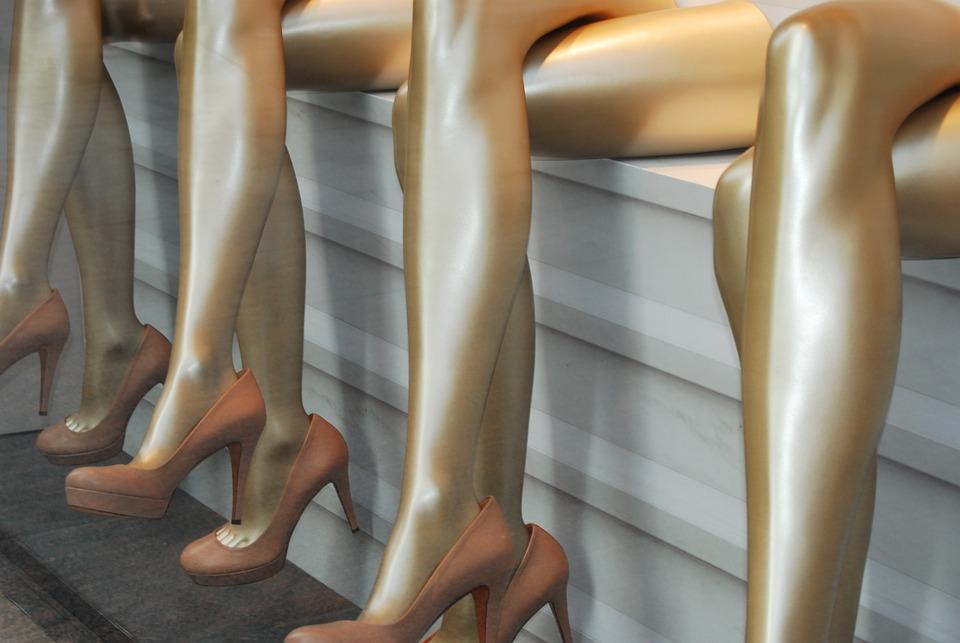Legs, Shoes, Exhibition, Bracelet, Class, Repetition