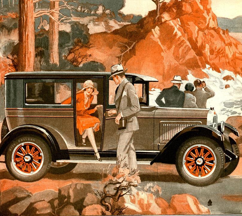 Car, Automobile, Transport, Passenger, Classic, Vintage