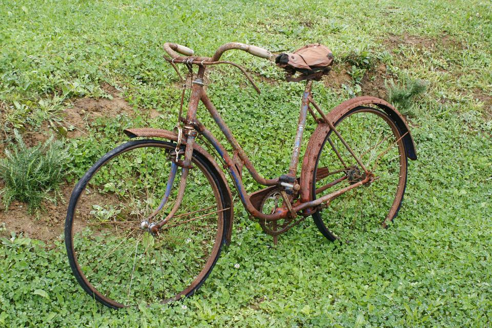 Bicycle, Vintage, Old, Classic, Saddle