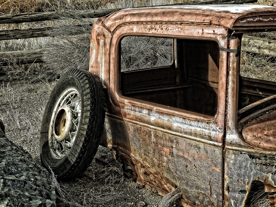 Old, Rusty, Car, Automobile, Classic Car, Vintage