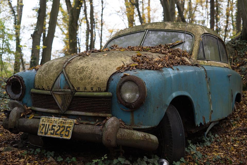 Free photo Classic Car Borgward Car Junk Yard Vintage - Max Pixel