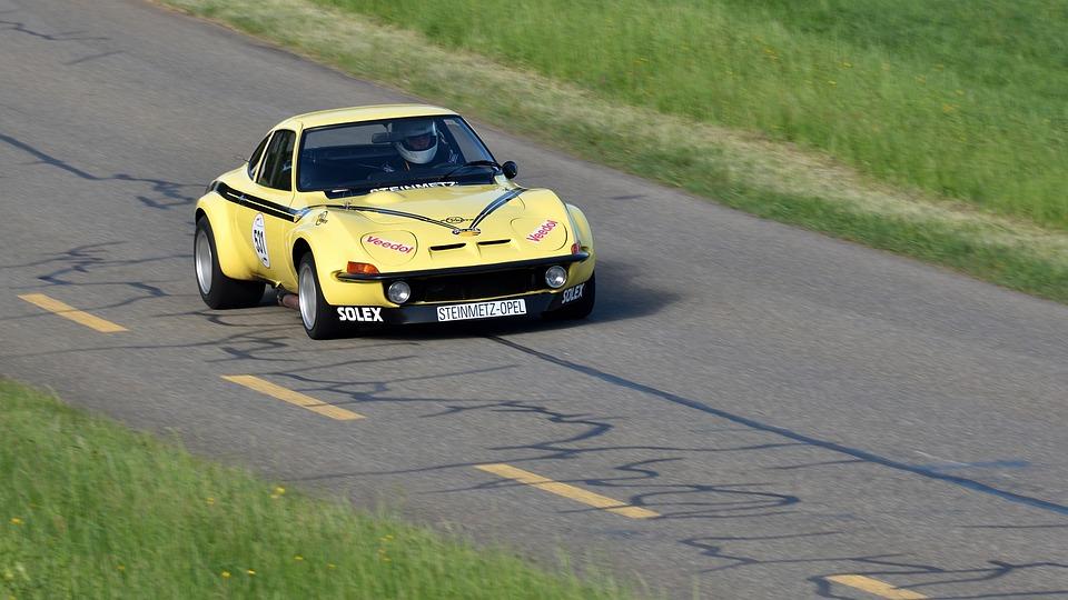 Racing Car, Hillclimb, Classic, Motorsport