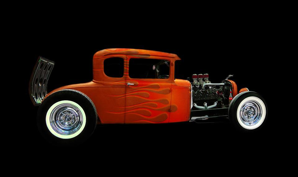 Free photo Classic Hot Rod Old Car - Max Pixel