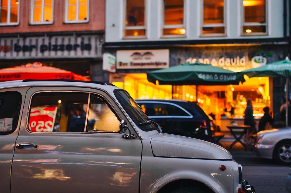 Road, Automotive, Classic, Auto, Lighting, Old, Human