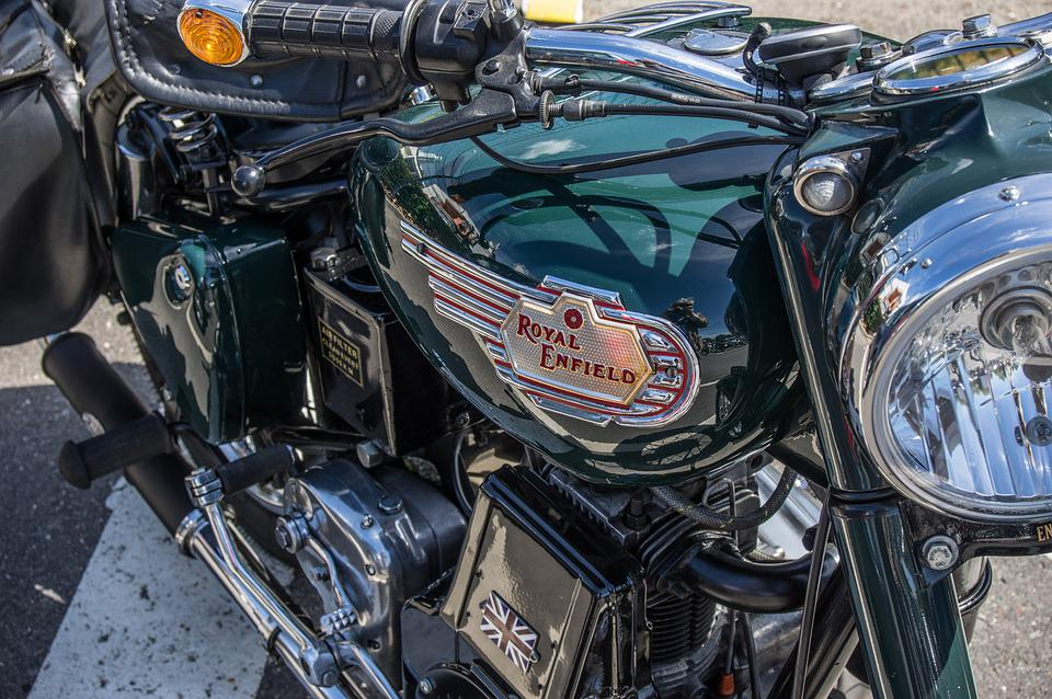 Motorcycle, Royal, Enfield, Classic