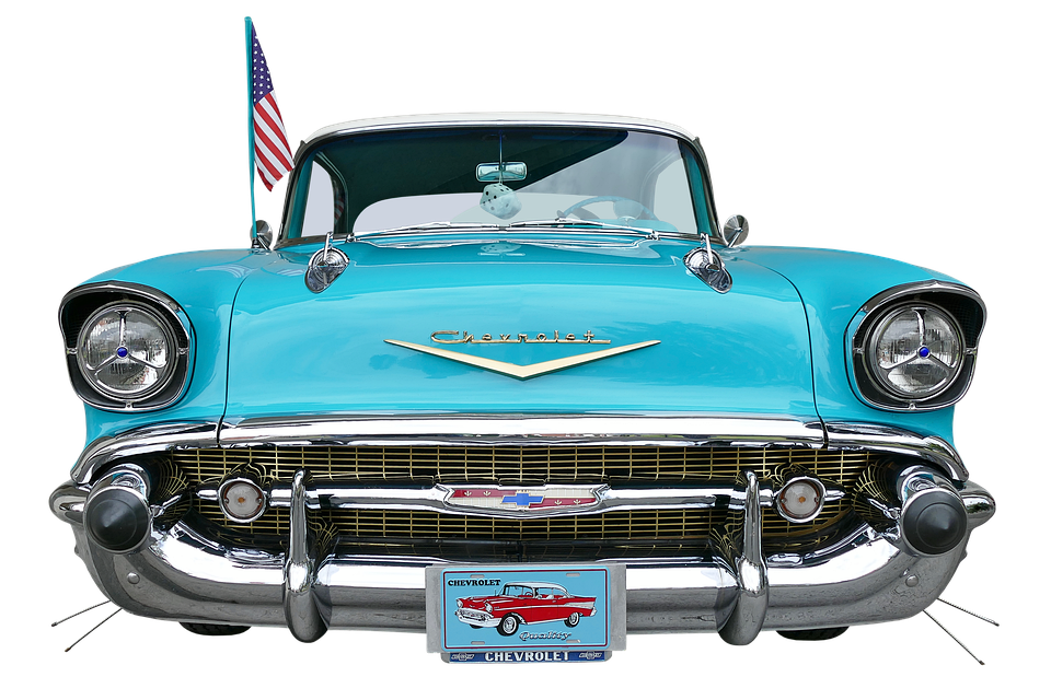 Chevrolet, Bel Air, Vehicle, Auto, Classic, Oldtimer