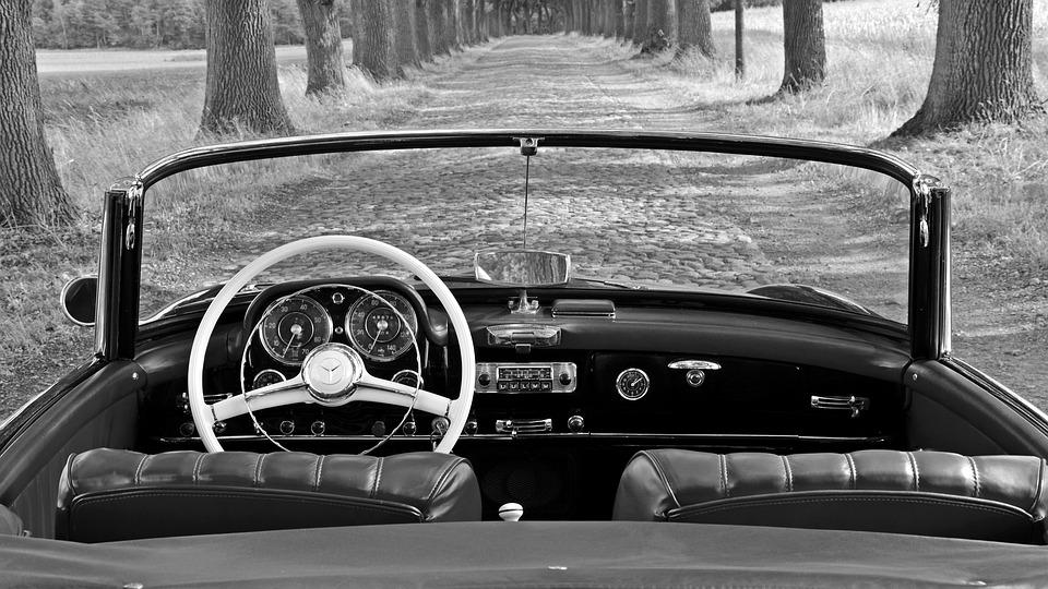 Mercedes 190 Sl, Oldtimer, Classic, 190sl, Nostalgic