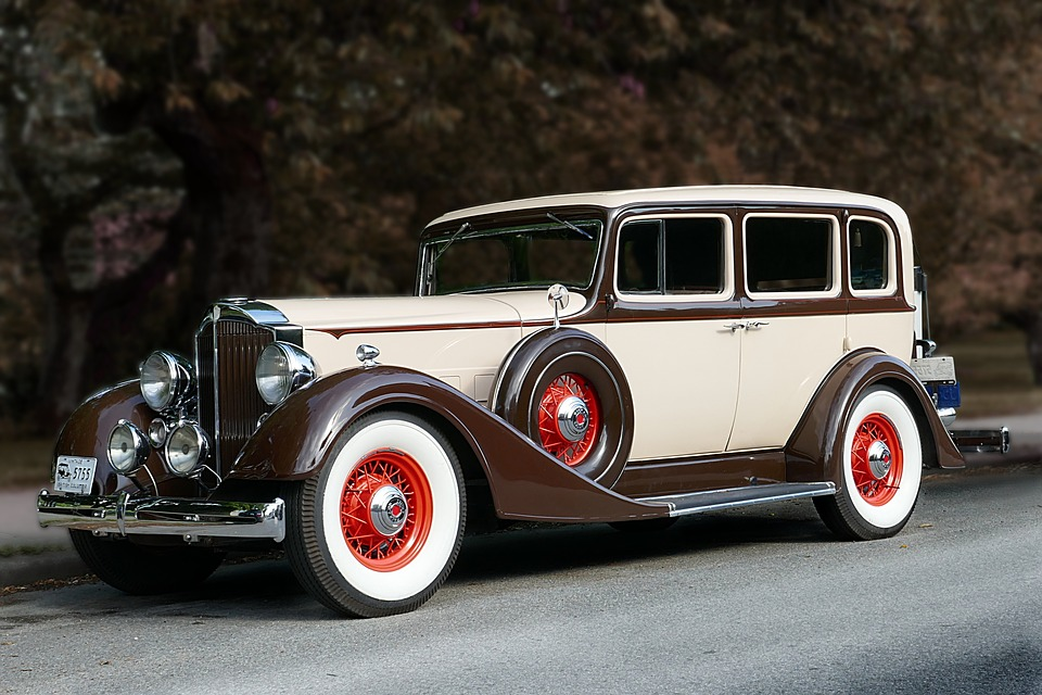 Free photo Classic Packard Vintage Auto Car 1934 Antique - Max Pixel