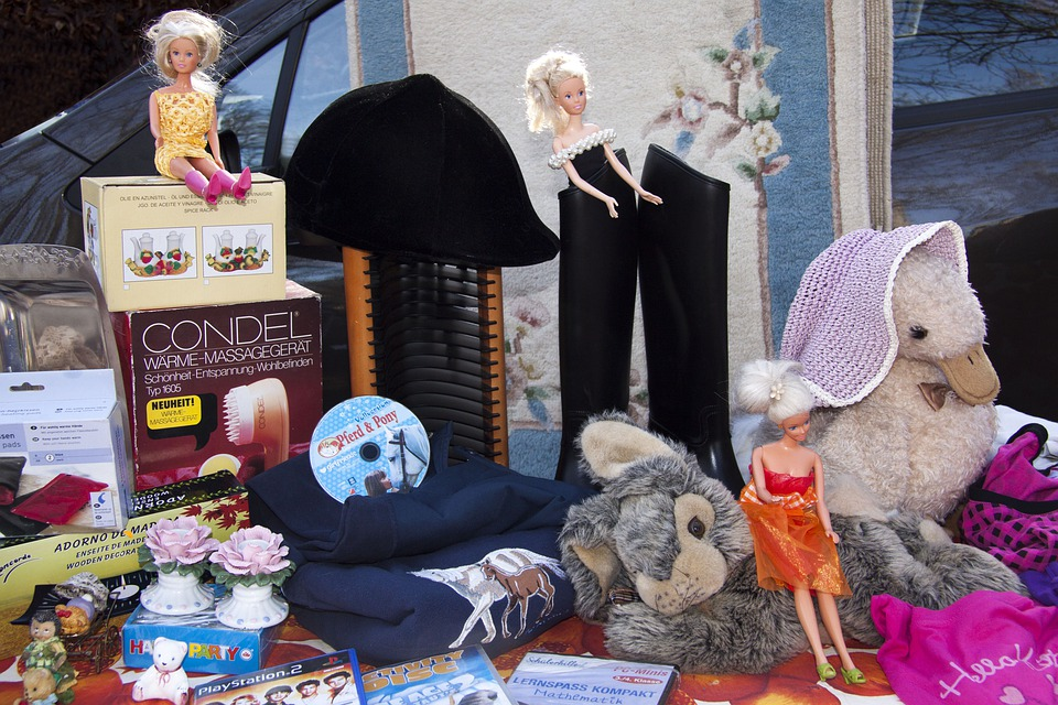 Flea Market, Barbie, Barbie Doll, Toys, Classic Toy