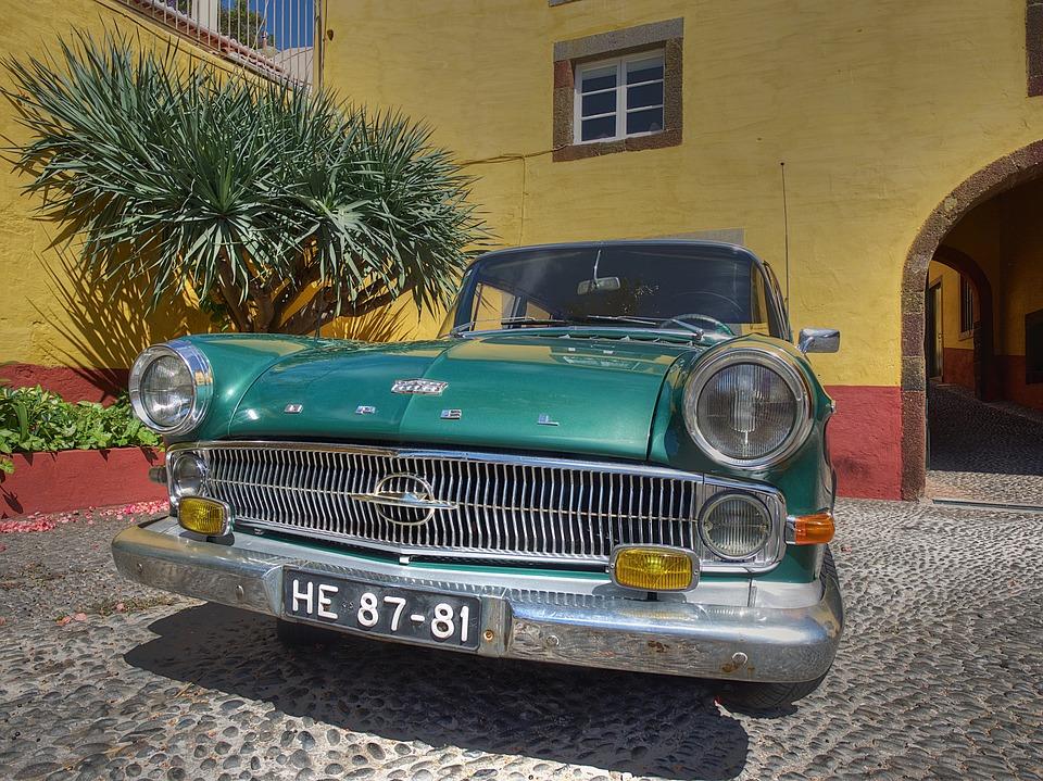 Opel, Oldtimer, Classic, Auto, Automotive, Vehicles