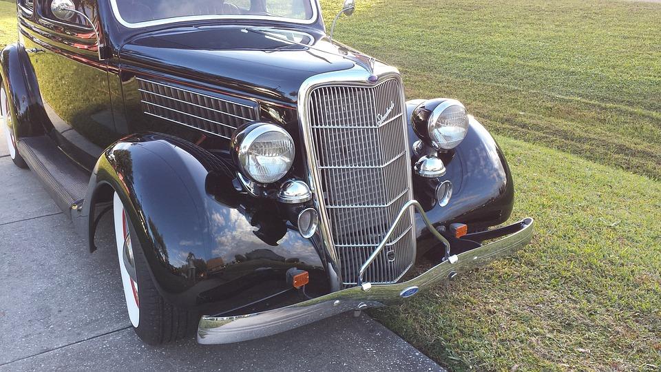 Car, Transportation, Classic, Vehicle, Chrome, Vintage