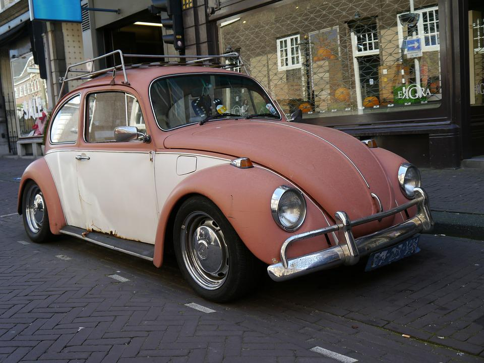 Old Vw Beetle Clic Volkswagen