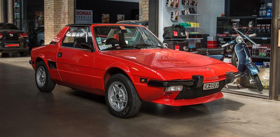 Fiat, X1 9, Sports Spyder, Oldtimer, Classic, Auto