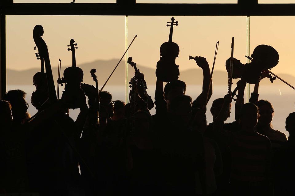 Orchestra, Opera, Guitar, Concert, Music, Classical