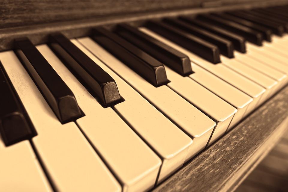 Piano, Piano Keys, Classical Music, White Keys