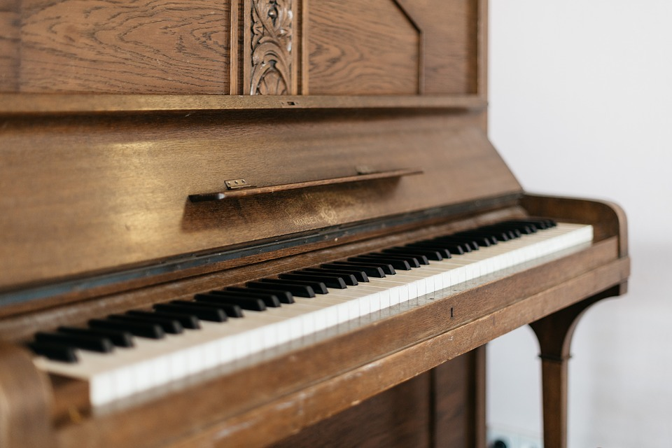 Piano, Classical, Organ, Wood, Old, Vintage, Music