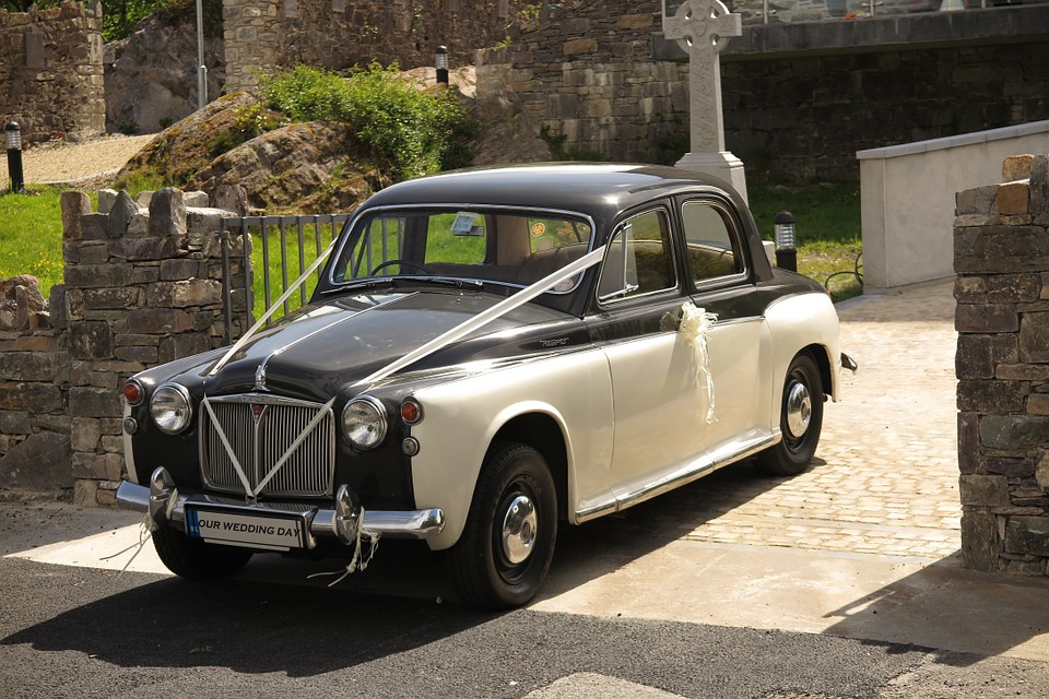Rover, Wedding, Car, Classics, Veteran, Classic Car