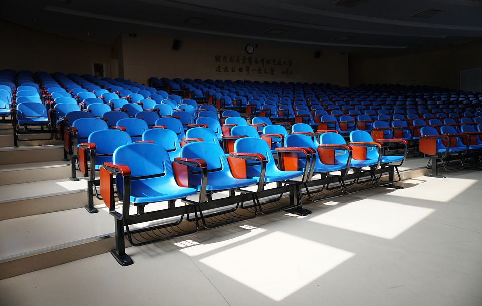 Classroom, Chair, Seat, Train, The Chamber, Student