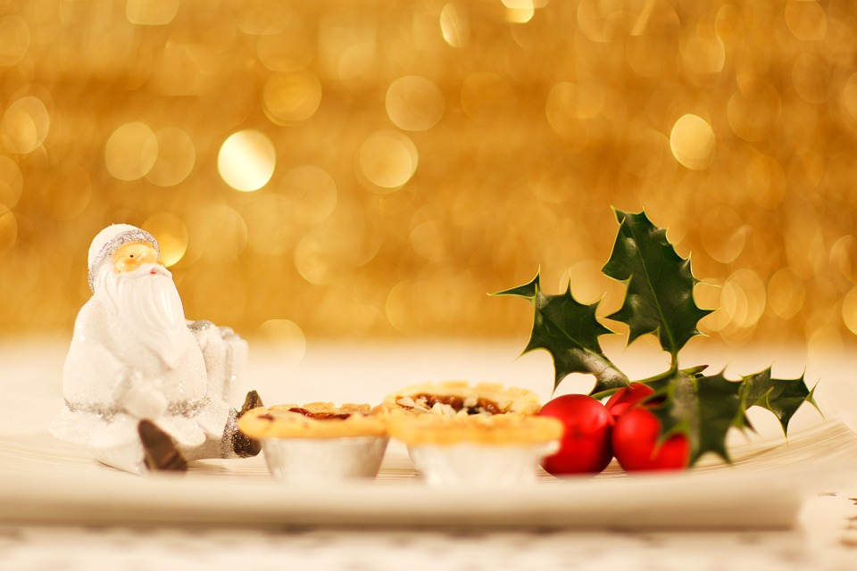 Background, Christmas, Claus, Decorated, Decoration