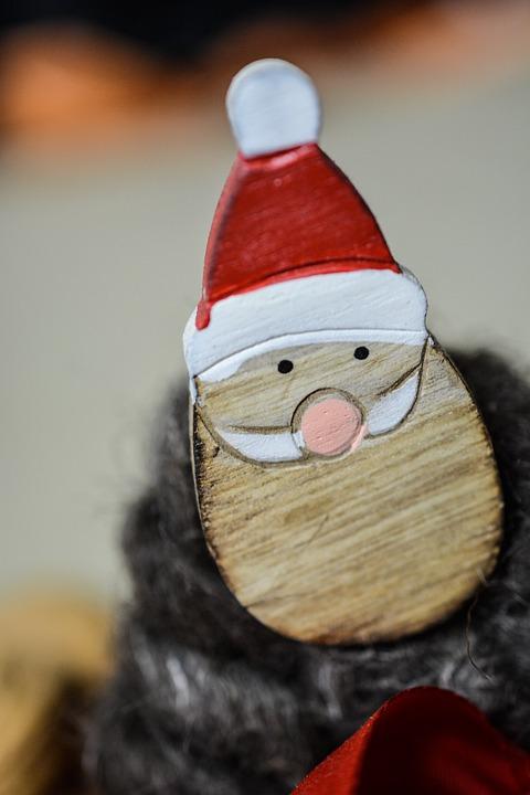 Santa, Dwarf, Wooden, Claus, Holiday, Costume, Hat, Fun