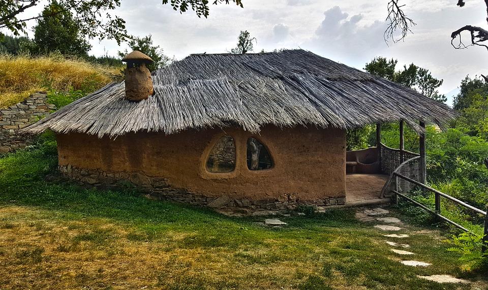Leshten, Clay House, Village, Clay, Rodopes, Rhodopes