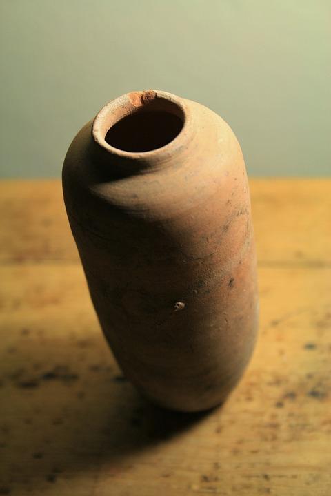 Free Photo Clay Pot Pottery Elongated Ceramic Vase Ornament Max Pixel