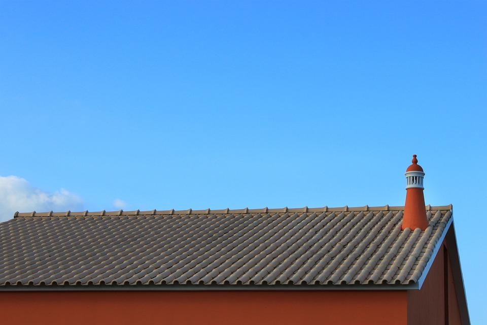 Blue, Flue, Chimney, Clean, Clear, Cloud, Design, Forms