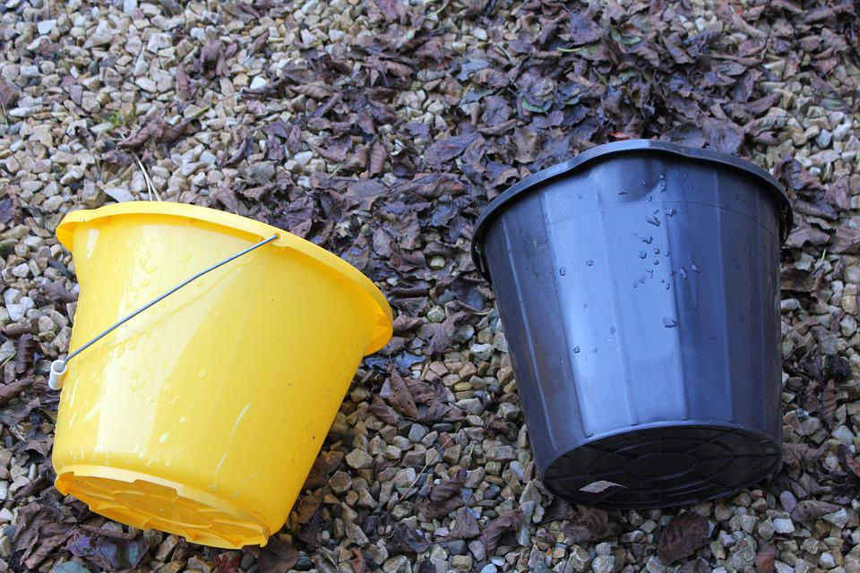 Buckets, Wash, Pail, Clean, Collect, Carrier, Pair