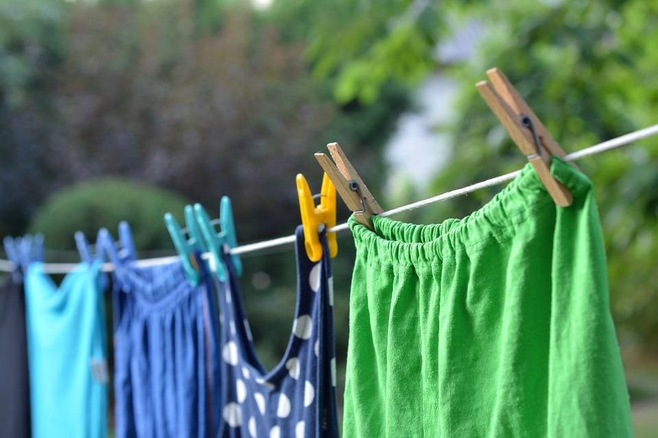 Wash, Clothes, String, Clip, Dry, Cleaning