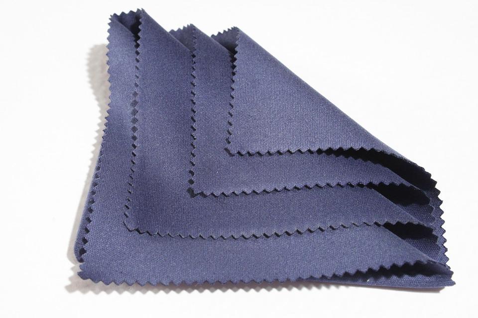 Blue, Cleaning, Cloth, Kevlar, Lens, Microfiber, Nomex