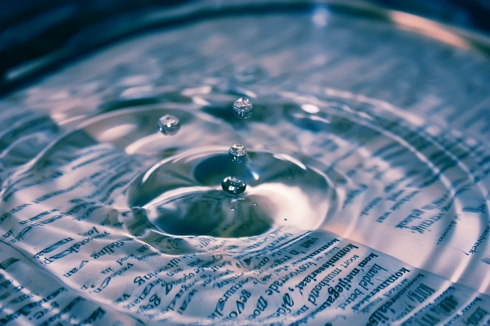 Water, Drop, Blue, Liquid, Clean, Clear, Splash, Ripple