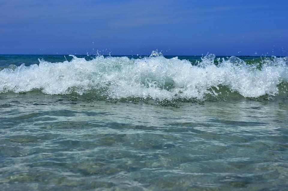 Wave, Sea, Water, Inject, Foam, Clear, Clean