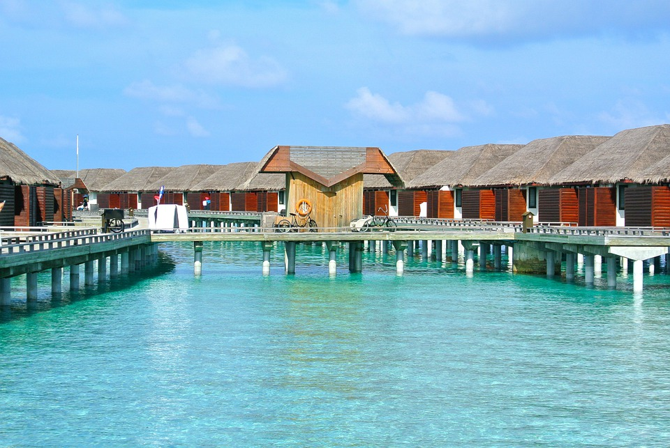 Maldives, Beach, Holiday, Vocation, Clear Water, Resort