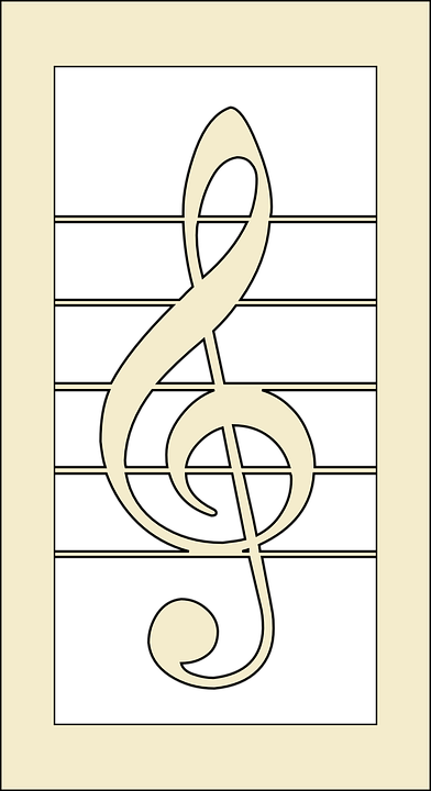 Clef, Melody, Music, Notes