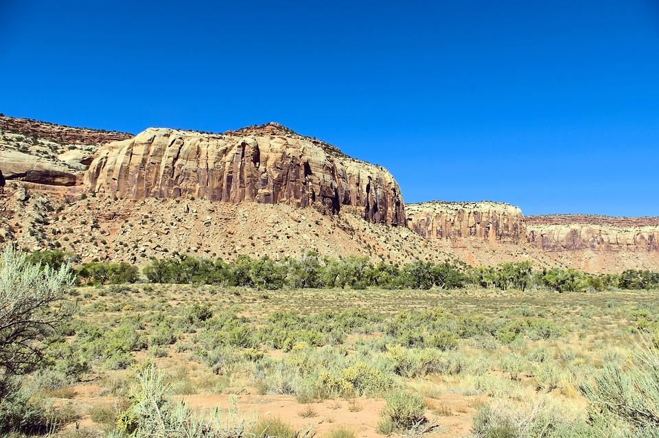 Big Bear National Monument, Desert, Cliffs, Cliff