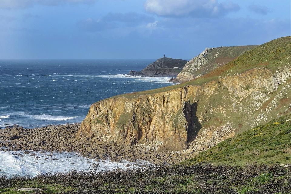 Landscape, Cliff, Sea, Rugged Landscape, Ocean, Cape
