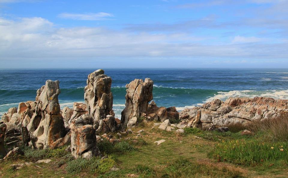Coast, Cliff, Stone Coast, Rock, Sea, Beach, Stones