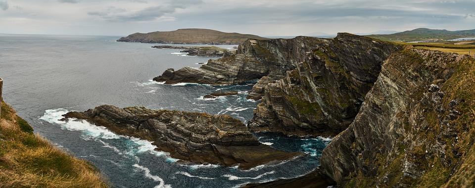 Cliffs, Of, Kerry, Ireland, Cliffs Of Kerry, Water