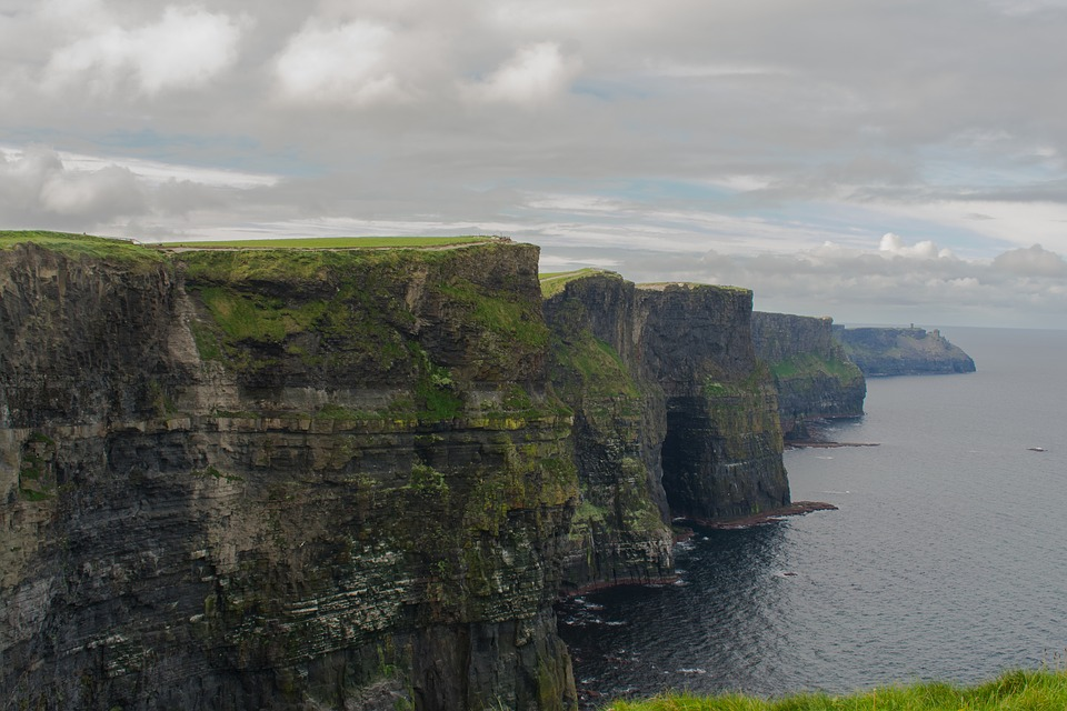Cliffs Of Moher, Ireland, Ocean