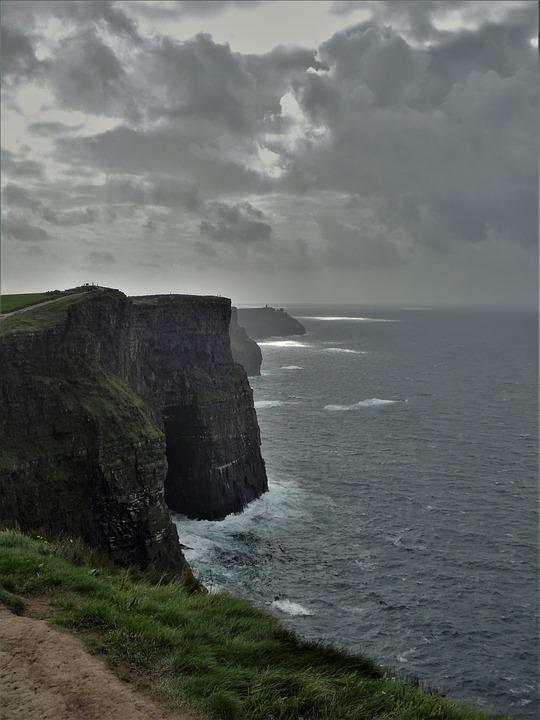 Ireland, Cliffs Of Moher Munster, Cliffs, Nature