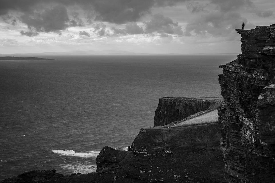 Cliffs Of Moher, Cliffs, Ireland, Landscape, Seascape