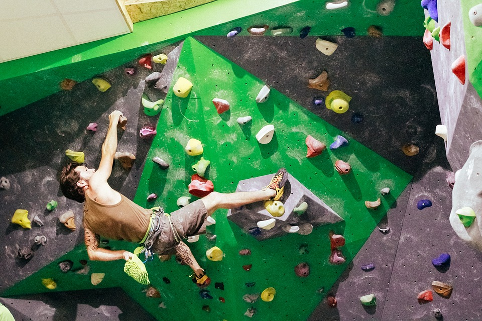 Climbing, Sport, Block, Climb