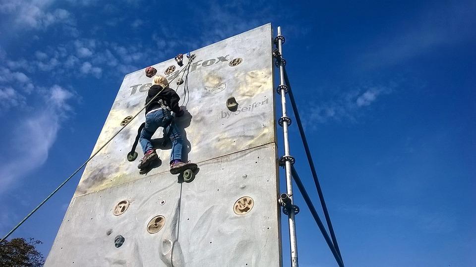 Climbing Wall, Climb, Artificial, Sport Climbing