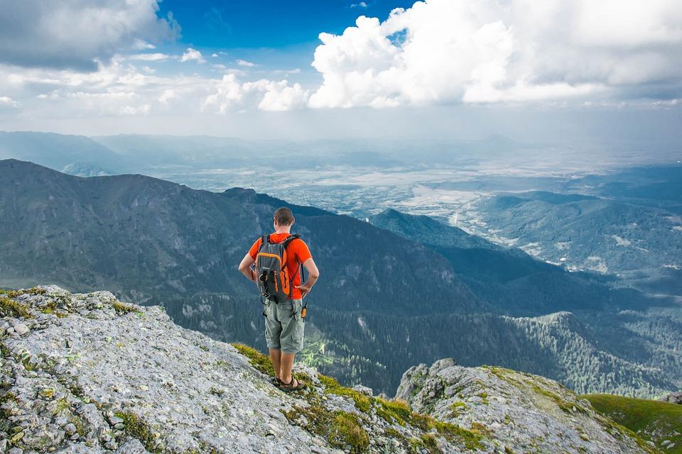 Adventure, Climb, Clouds, Hike, Landscape, Mountain