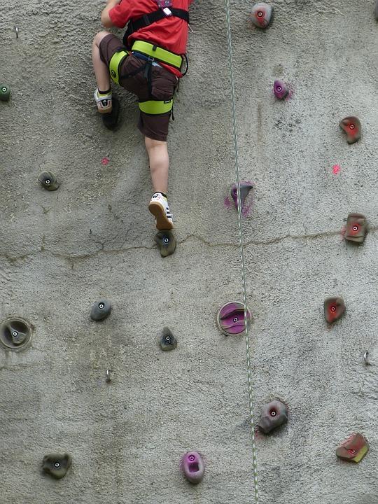 Climb, Climbing Wall, Sport, Movement, Leisure, Fitness
